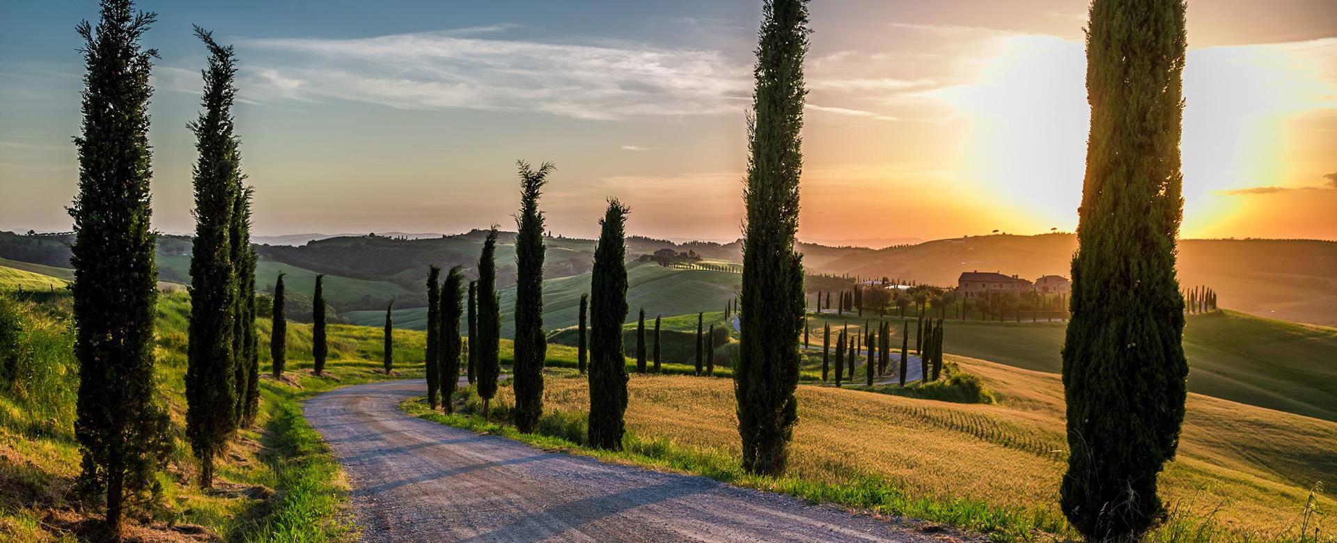 Autonoleggio Toscana Val d'Orcia
